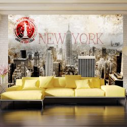 Fotótapéta - New York - POST AGE STAMP