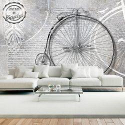 Fotótapéta - Vintage bicycles - black and white