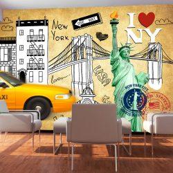 Fotótapéta - One way - New York