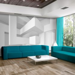 Fotótapéta - White geometry