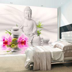 Fotótapéta - Buddha and Orchids