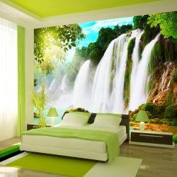 Fotótapéta - The beauty of nature: Waterfall
