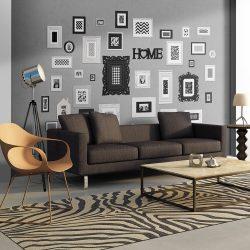 Fotótapéta - Wall full of frames