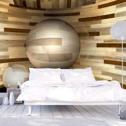 Fotótapéta - Wooden orbit