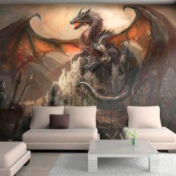 Fotótapéta - Dragon castle