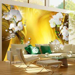 Fotótapéta - Orchid in Gold