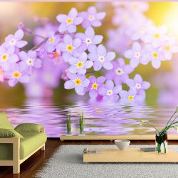 Fotótapéta -  Violet Petals In Bloom