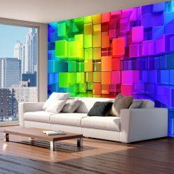 Fotótapéta - Colour jigsaw