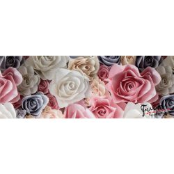 Szines rózsák öntapadós bordűr