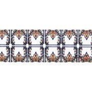 Barokk mintás öntapadós bordűr