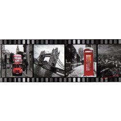 London filmkockán öntapadós bordűr