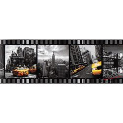 New York filmkockán öntapadós bordűr