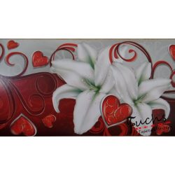 Liliomok  öntapadó bordűr