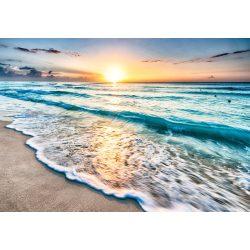 Naplementés tengerpart fotótapéta több méretben, alapanyagban