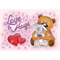 Maci Love hugs fotótapéta több méretben, alapanyagban