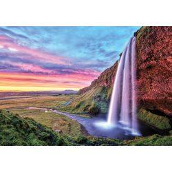 Napkelte vízesés fotótapéta több méretben, alapanyagban