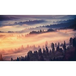 Felhős dombság fotótapéta több méretben, alapanyagban