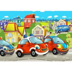 Kis autós fotótapéta több méretben, alapanyagban