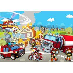 Tűzoltóautó fotótapéta több méretben, alapanyagban