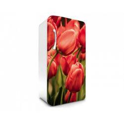 Red Tulips öntapadós hűtő poszter