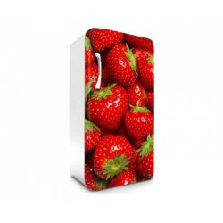 Strawberry öntapadós hűtő poszter