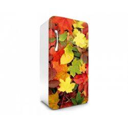 Colourful Leaves öntapadós hűtő poszter