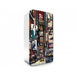 Times Square öntapadós hűtő poszter