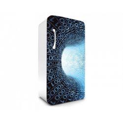 Binary Stream öntapadós hűtő poszter
