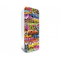 Graffiti öntapadós hűtő poszter