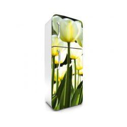White Tulips öntapadós hűtő poszter
