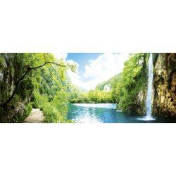 RELAX IN FOREST fotótapéta, poszter, vlies alapanyag, 375x150 cm