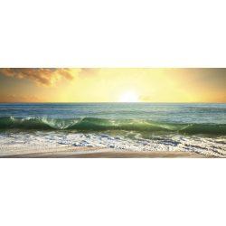 SEA SUNSET fotótapéta, poszter, vlies alapanyag, 375x150 cm