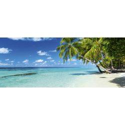 PARADISE BEACH fotótapéta, poszter, vlies alapanyag, 375x150 cm