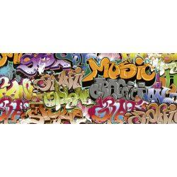 GRAFFITI ART fotótapéta, poszter, vlies alapanyag, 375x150 cm