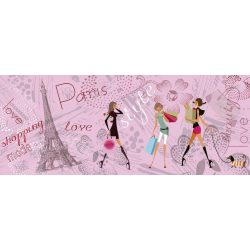 PARIS STYLE fotótapéta, poszter, vlies alapanyag, 375x150 cm