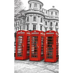 LONDON fotótapéta, poszter, vlies alapanyag, 150x250 cm