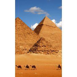 EGYPT PYRAMID fotótapéta, poszter, vlies alapanyag, 150x250 cm