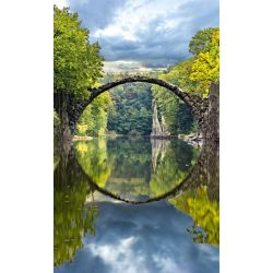ARCH BRIDGE fotótapéta, poszter, vlies alapanyag, 150x250 cm