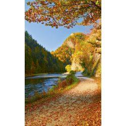 DUNAJEC RIVER fotótapéta, poszter, vlies alapanyag, 150x250 cm