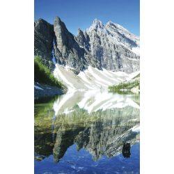 LAKE AGNES fotótapéta, poszter, vlies alapanyag, 150x250 cm