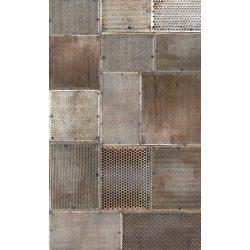GRUNGE METAL fotótapéta, poszter, vlies alapanyag, 150x250 cm