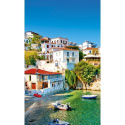 GREECE COAST fotótapéta, poszter, vlies alapanyag, 150x250 cm