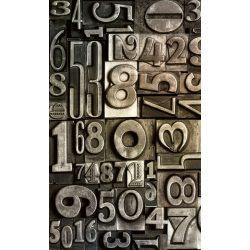 TYPESET fotótapéta, poszter, vlies alapanyag, 150x250 cm