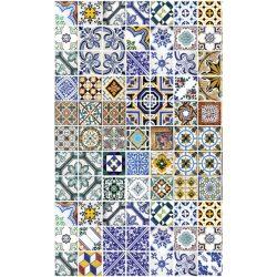 PORTUGAL TILES fotótapéta, poszter, vlies alapanyag, 150x250 cm