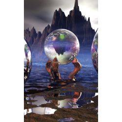 CRYSTAL VISION fotótapéta, poszter, vlies alapanyag, 150x250 cm