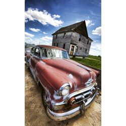 VETERAN CAR fotótapéta, poszter, vlies alapanyag, 150x250 cm