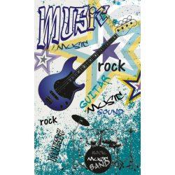 BLUE GUITAR fotótapéta, poszter, vlies alapanyag, 150x250 cm