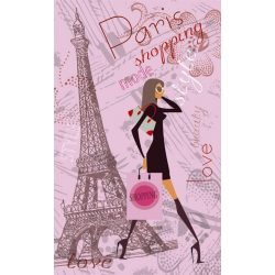 PARIS STYLE fotótapéta, poszter, vlies alapanyag, 150x250 cm