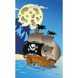 PIRATE SHIP fotótapéta, poszter, vlies alapanyag, 150x250 cm
