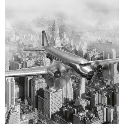 AIRPLANE fotótapéta, poszter, vlies alapanyag, 225x250 cm